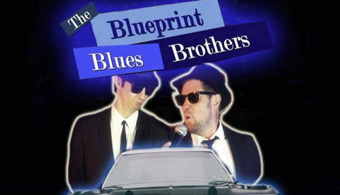 Total mk shady duo the blueprint blues brothers are back in milton keynes malvernweather Image collections
