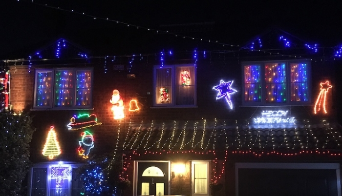 Check out the amazing Christmas house illuminations in Newport Pagnell - Total MK
